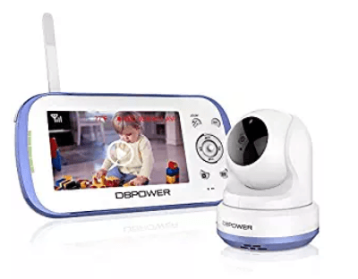DBPOWER Digital Sound Activated Video Record Baby Monitor
