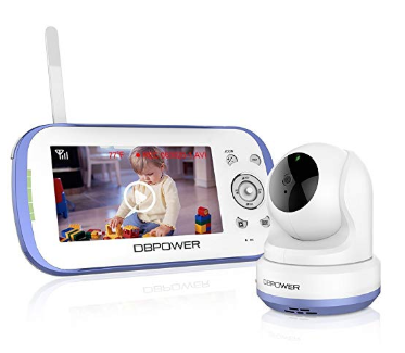 DBPOWER Digital Sound-Activated Video Monitor