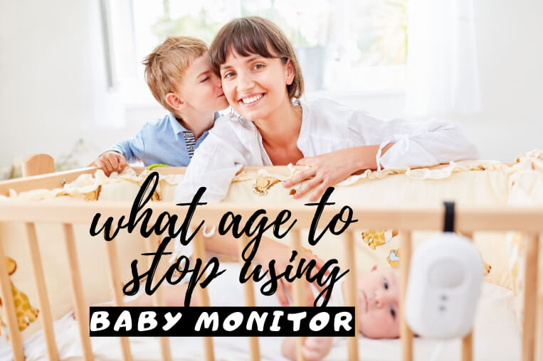 when to stop using baby monitor