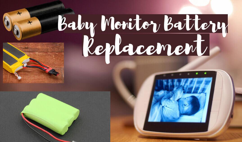 baby monitor battery